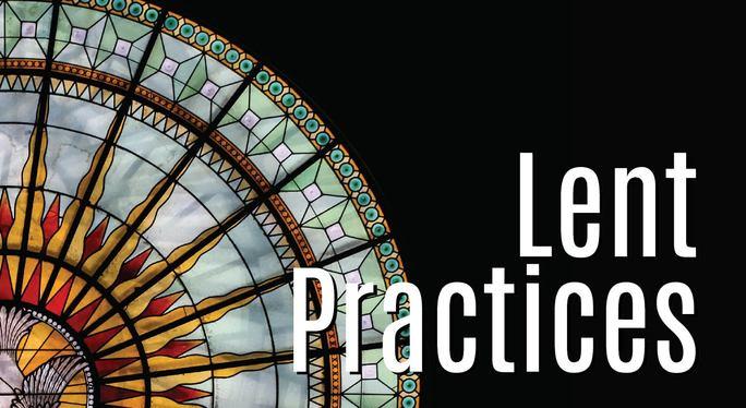 Lent Practices Font Match