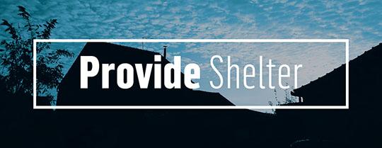 540x209 Provide shelter