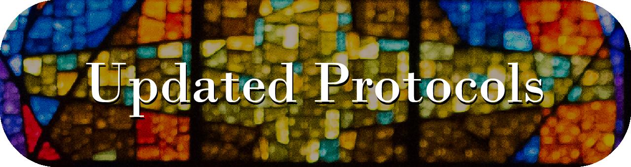 updated protocols